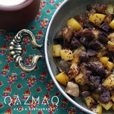 Azerbaijan cuisine-Cız-bız - Picture of Qazmaq Cafe