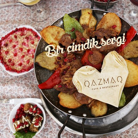 Azerbaijan cuisine fish kabab picture of qazmaq cafe for Azerbaijan cuisine