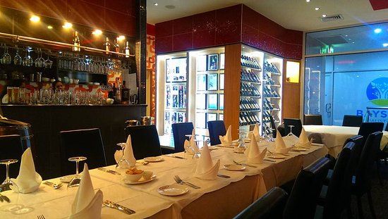 Shavan's Indian Restaurant: Bar area