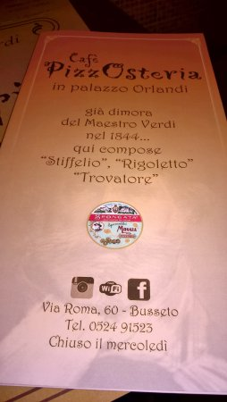 PizzOsteria Palazzo Orlandi: ....