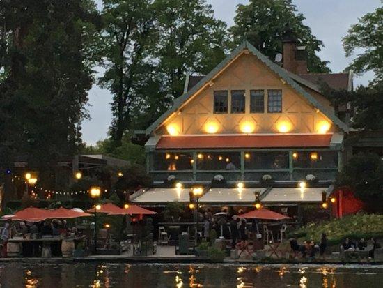 restaurant view picture of le chalet des iles tripadvisor
