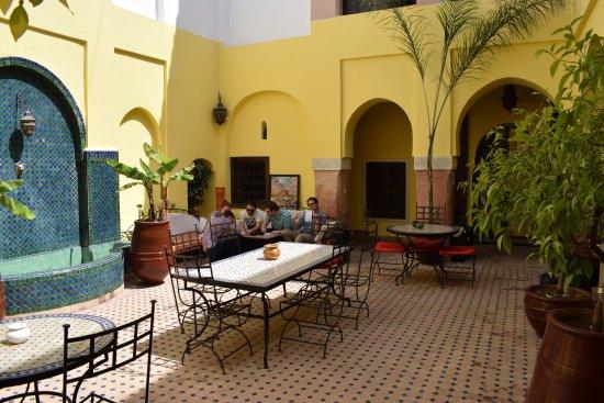 Riad Lea : General patio