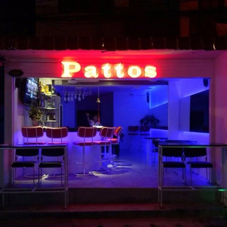 Pattos Bar: If you want different colored back ground lights, just ask them. Cool feature I say!