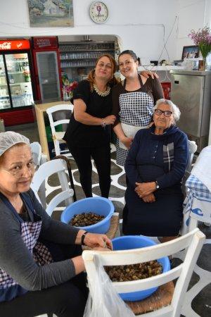 Koutsouras, Greece: Kalliotzina Restaurant