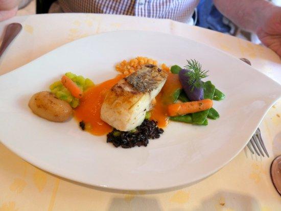 Le Villars, Francia: Maigre et légumes