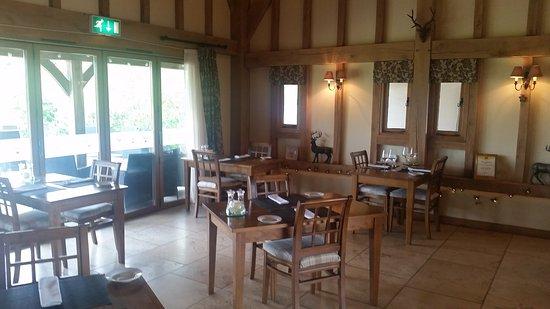 Egerton, UK: Dining area