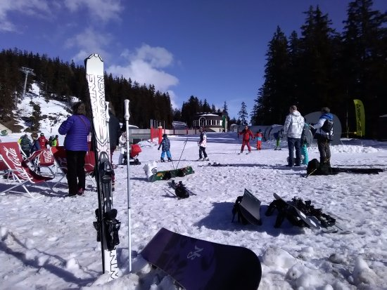 Crans-Montana: At the Beginners slope