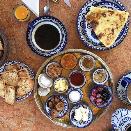 Riad Lune et Soleil: ah, les petits déjeuners...