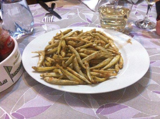 San Feliciano, Italy: frittura