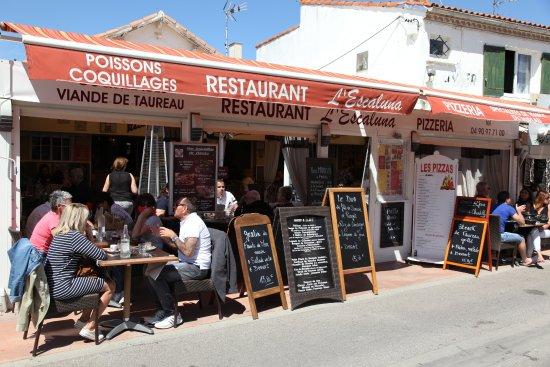 Restaurant Aux Saintes Maries De La Mer