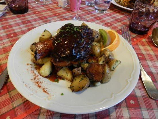 The food we ordered bild von le fer rouge colmar - Fer rouge colmar ...