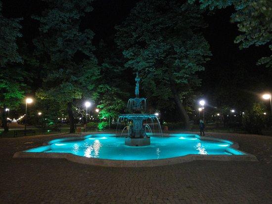 park tsar simeon fuente en el jardin zar simen