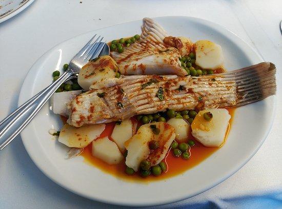 Foto de casa juanito carral raya a la gallega tripadvisor for Cocinar raya a la gallega