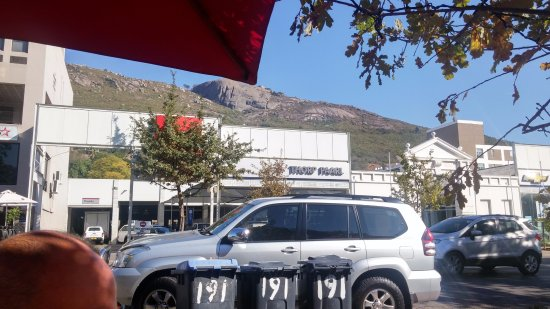 Tafel & Tap Bistro & Bakery: View across the road