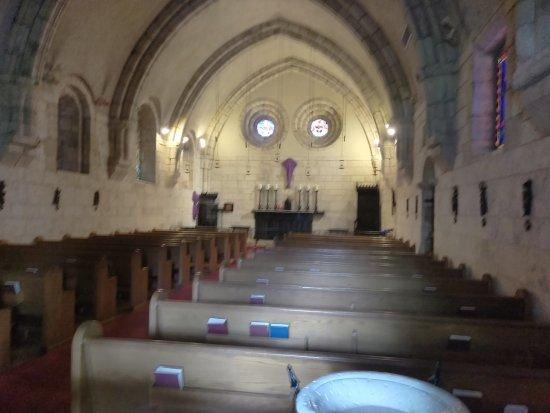 The Ancient Spanish Monastery: Hallways, entrance, church