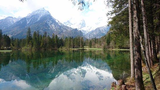 Hinterstoder, Австрия: In Richtung der Berge