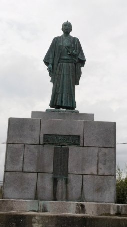 Takechi Hampeita Statue