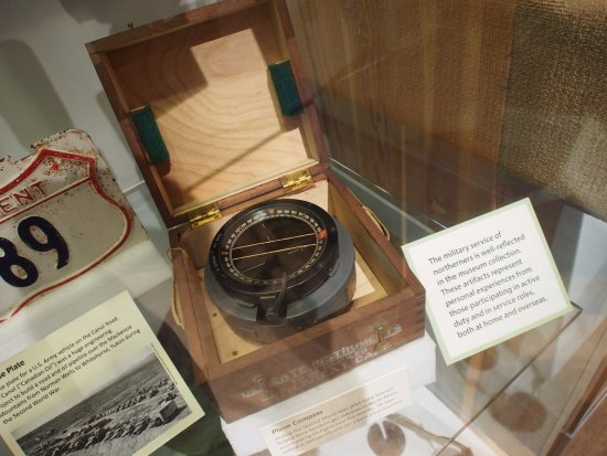 Prince of Wales Northern Heritage Centre: plane compass used in the Second World War
