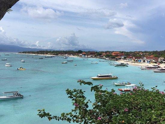Batu Karang Lembongan Resort & Day Spa: View from the pool/bar area