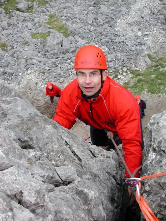 Kendal, UK: Outdoor activities in the Lake District: Rock climbing with Key Adventures
