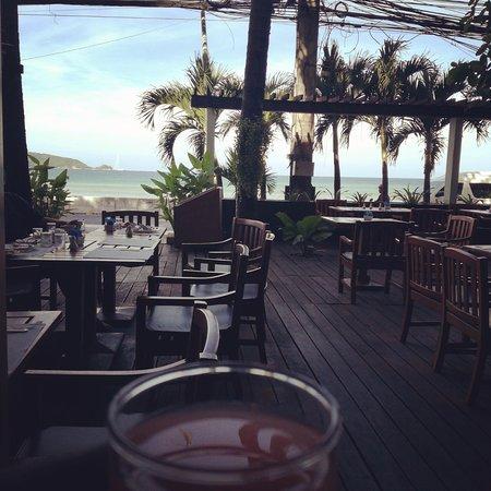 Sunset Beach Resort: Picture taken during breakfast