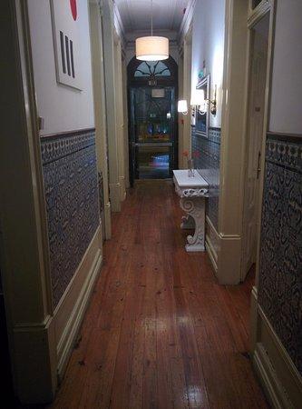 Pensao Residencial Jardim: Corridoio d'ingresso