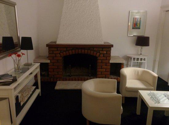Pensao Residencial Jardim: Sala relax