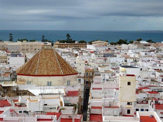 Torre Tavira: widok z więzy