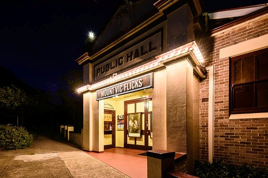 Mount Victoria, Australië: Mount Vic Flicks at night