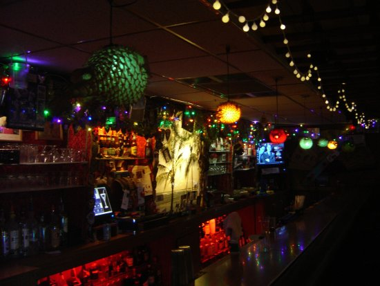 Tiki bar with puffer fish lights picture of lun wah roselle lun wah tiki bar with puffer fish lights aloadofball Image collections