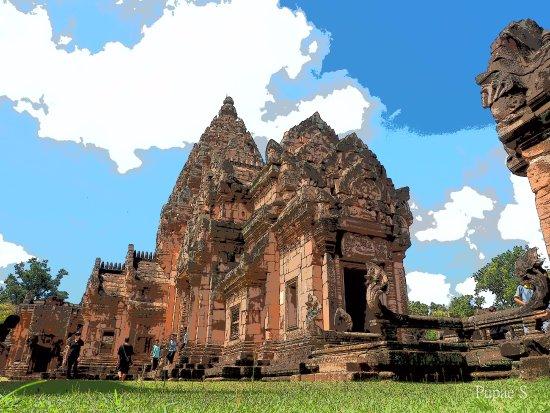 ก่อนถึงปราสาท - Picture of Phanom Rung Historical Park (Prasat Hin Phanom Run...
