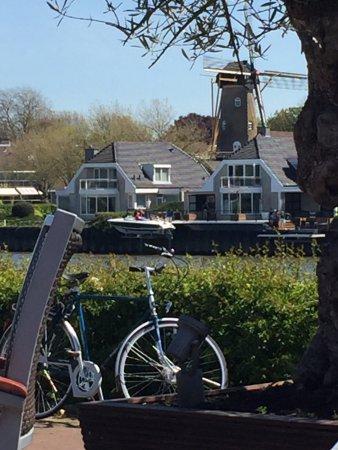 Capelle aan den IJssel, Hollanda: View from the terrace