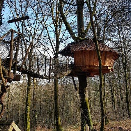 l 39 arbre cabane picture of l 39 arbre a cabane guyonvelle tripadvisor. Black Bedroom Furniture Sets. Home Design Ideas