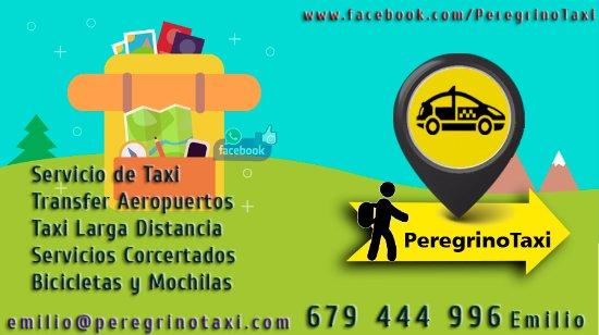 Sarria, Espanha: Servicios Peregrino Taxi