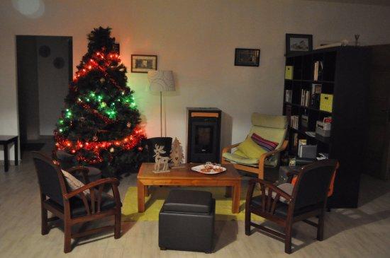 Saint-Sauveur-le-Vicomte, France: Noël dans Les Ecuries Mécaniques. 1