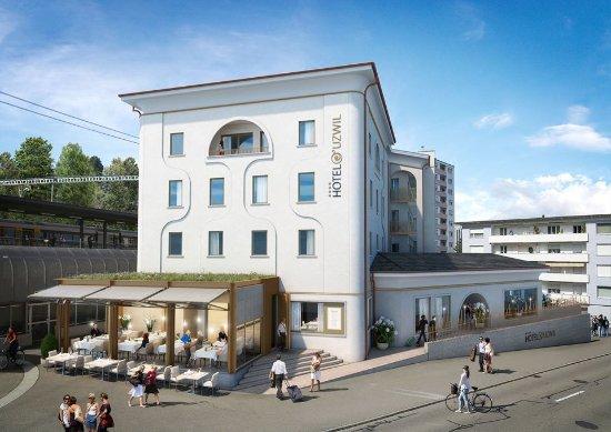 Uzwil, Suisse : Neue Fassade 2017