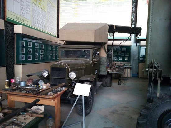 The museum of military cars