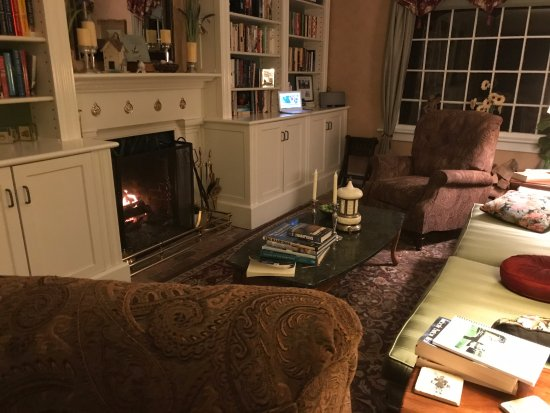 A Butler's Manor: I read Chris's book (written by his wife) here each night.