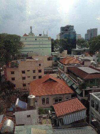 Queen Ann Hotel : Blick aus dem Fenster