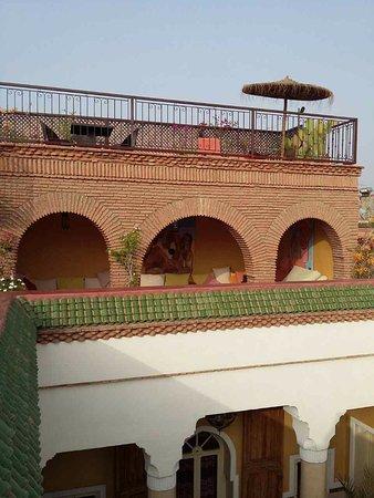 Riad Ker Saada : Terrasse du Riad