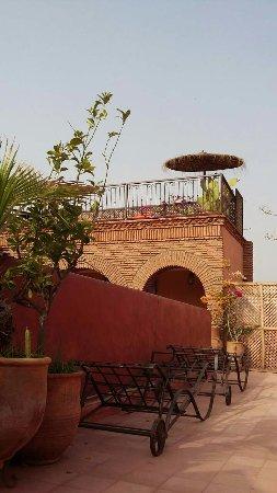 Riad Ker Saada : Autre vue de la terrasse