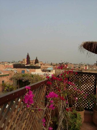 Riad Ker Saada : Vue superbe sur Marrakech