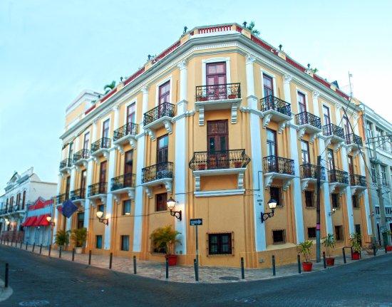 Antiguo Hotel Europa : Fachada