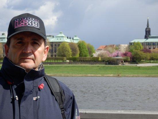 Elbufer Dresden: paseando por Elbufer