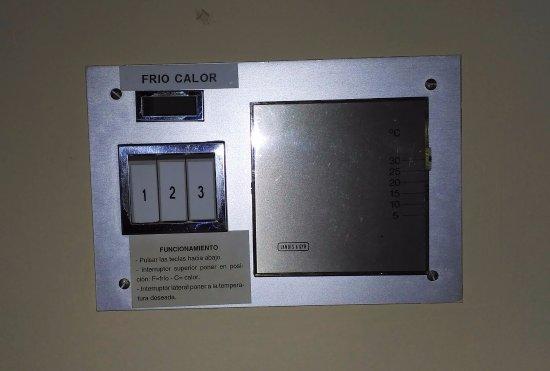 Ebora Hotel: Sistema de calefacción