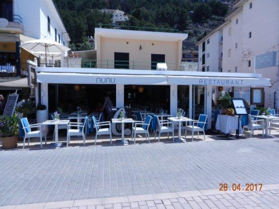 Nunu Restaurant: Aussenansicht des Restaurants NUNU Port de Soller