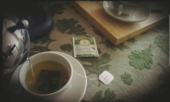 Anytime is tea time @ The Peppermint Room (no sweeteners:)