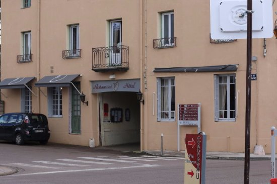 Mercurey, France : Entrée du restaurant