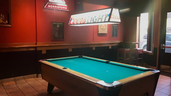 The Famished Frog: POOL, DARTS, SHUFFLEBOARD