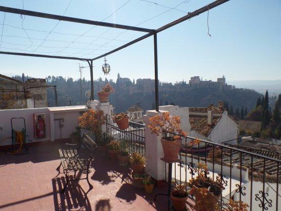 Escuela Carmen de las Cuevas : The view from one of the school's terraces!